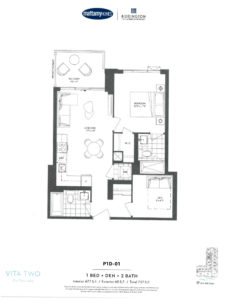 Vita Two-Floor Plan P1D-01