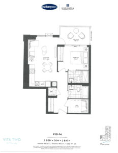 Vita Two-Floor Plan P1D-14