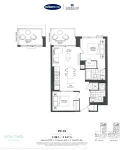 Vita Two-Floor Plan P2-05