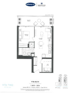 Vita Two-Floor Plan V1D-01&11